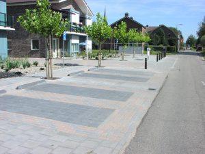 Bestrating-+-Parkeervakken-Groenhof